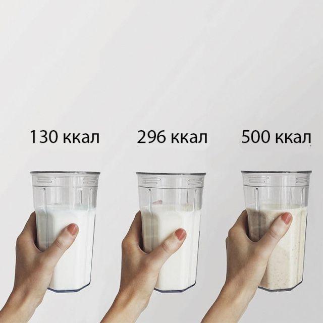 Фитоняша показала, что в полезной и вредной еде одинаково калорий