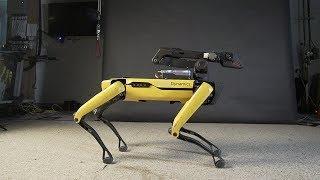 Кожаные ублюдки из Boston Dynamics научили робота танцевать под Uptown Funk