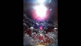 Первое видео с поверхности астероида!