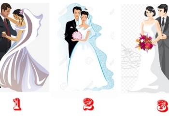 Какая свадебная пара вам нравится, такой вы «Душа-человек»