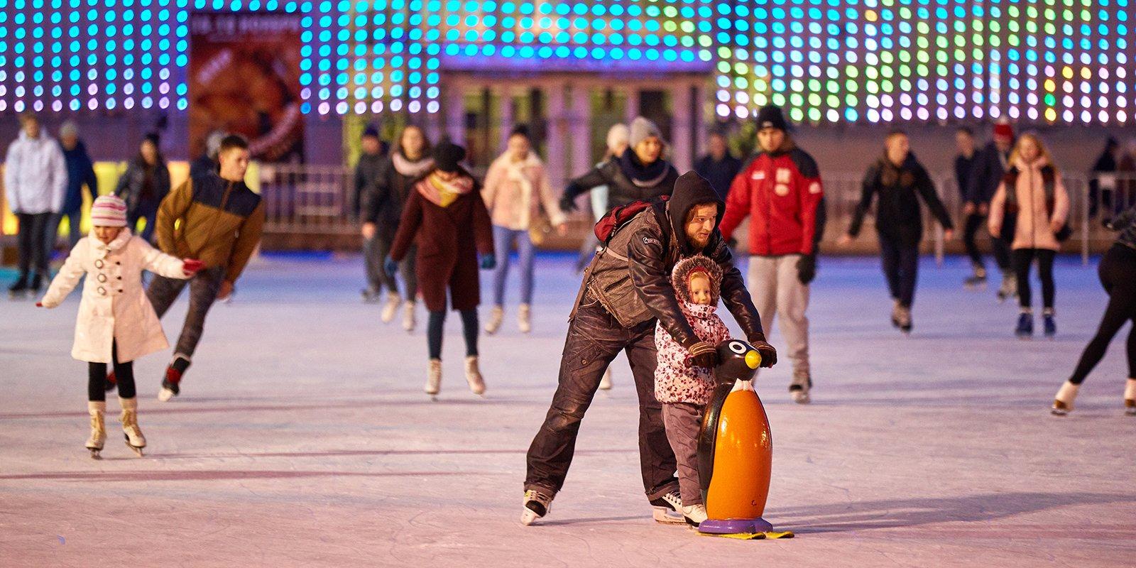 Каток в парке Горького 2018-2019: цены, как доехать, фото, расписание