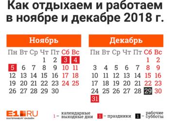 Праздники в декабре 2018 года в России — как отдыхаем
