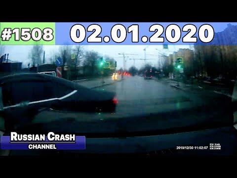 ДТП. Подборка на видеорегистратор за 02.01.2020