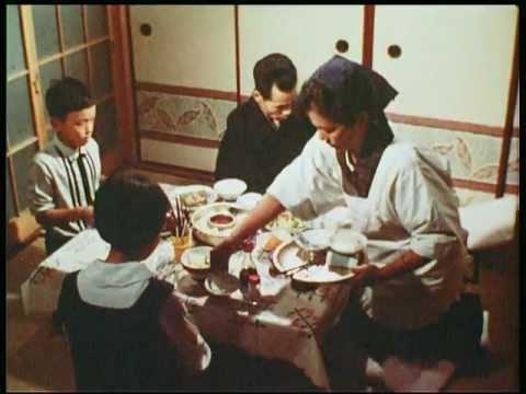 Один день из жизни японской семьи в 1966 году