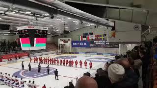 На хоккейном турнире в Норвегии белорусский гимн перепутали с песней группы «Песняры»